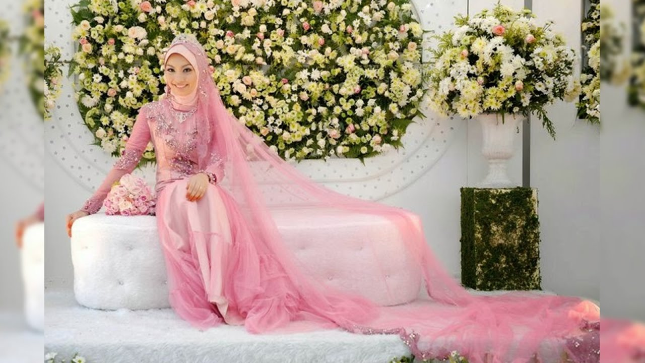 Model Gaun Pernikahan Muslimah Simple Elegan Youtube