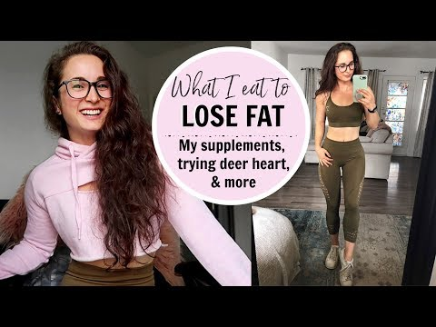 What I eat to LOSE FAT    MY FAVORITE SUPPLEMENTS & Becoming a Khaleesi 😵