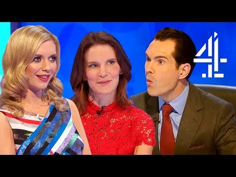 Rachel Riley & Susie Dent's CHEEKIEST Moments! | 8 Out of 10 Cats Does Countdown