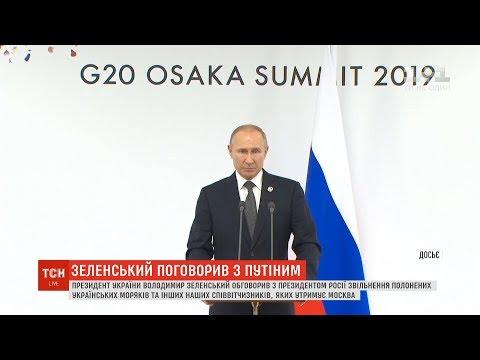 Зеленський та Путін