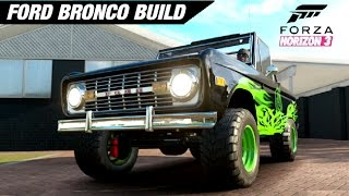 Ford Bronco MONSTER TRUCK Build - Forza Horizon 3