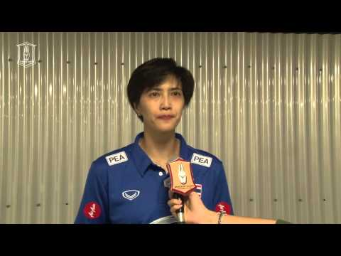 "BGTV : WGP 2015 : สัมภาษณ์ ""หน่อง-ปลื้มจิตร์ ถินขาว"" (Interview - Pleumjit Thinkaow)"
