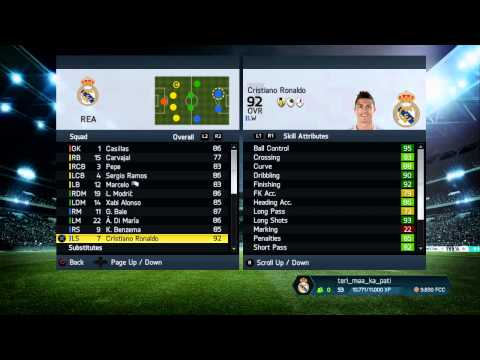 Lord Awesome | Real Madrid Team Management FIFA 14