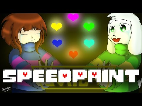 SpeedPaint! Frisk and Asriel! (Undertale)