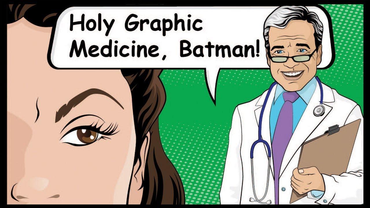Holy Graphic Medicine, Batman! - YouTube