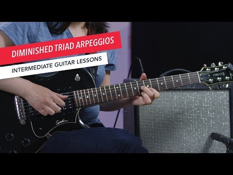 How to Play Guitar: Diminished Arpeggios   Intermediate   Guitar Lessons