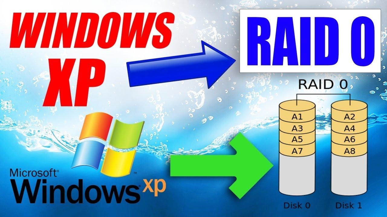 Установка Windows XP на RAID массив