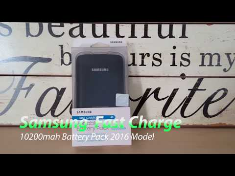 Samsung Fast Charge 10200mah Battery Pack New Release For 2016