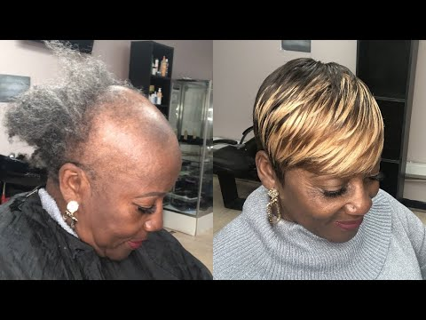 sewing-weave-on-severe-alopecia-(tips-&-tricks)-|-pixie-short-cut