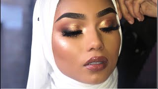 BRONZE EID MAKEUP TUTORIAL