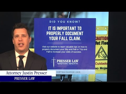 [IMPORTANT] Information about Slip/Trip and Falls in Florida  |  Personal Injury Attorney