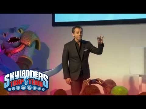 Official Skylanders Trap Team: Worldwide Reveal (Extended) l