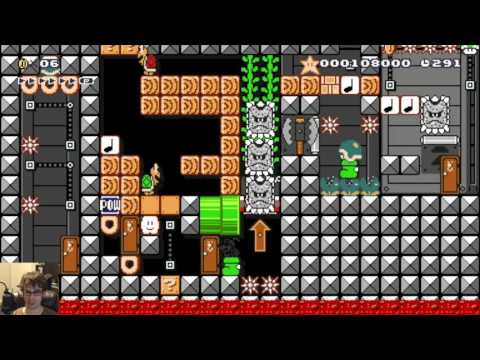 """Mario Maker - """"One More"""" Episode 4: A New Hope (NEW AWESOME PUZZLES!)"""