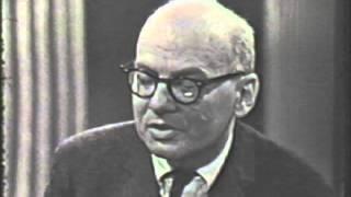 Milton Babbitt-demonstration on electronic music (1966) part II