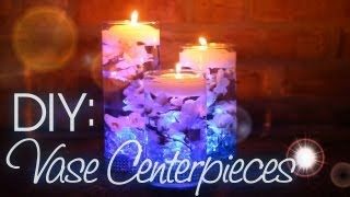 Diy: Vase Centerpieces