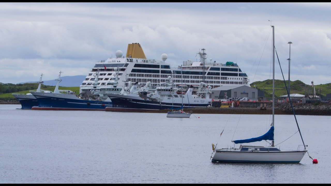 PO Adonia Cruise Ship Visits Killybegs YouTube - Adonia cruise ship