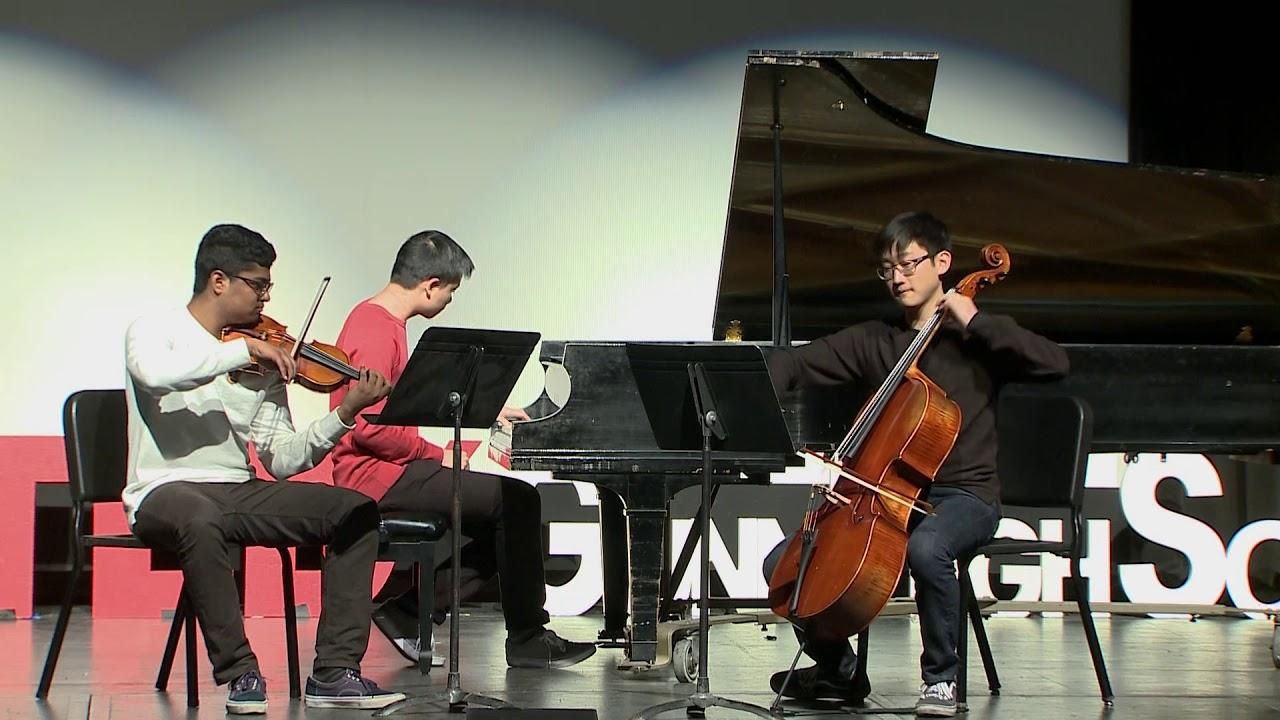 Fantasma Trio: Libertango by Astor Piazzolla | Fantasma Trio |  TEDxGunnHighSchool