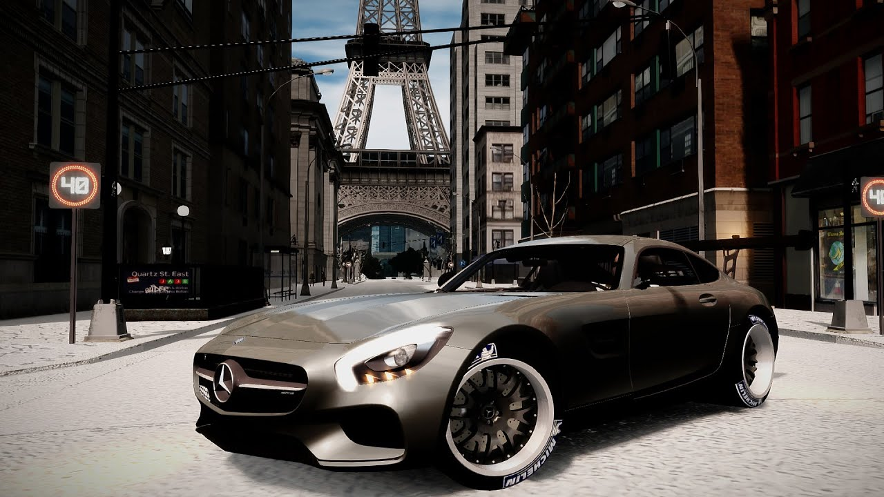 Mercedes Eiffel Tower : Gta eiffel tower mercedes amg gt sound showcase hip