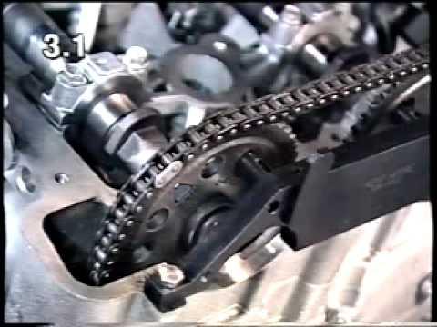 Opel Z22SE engine instruction video  YouTube