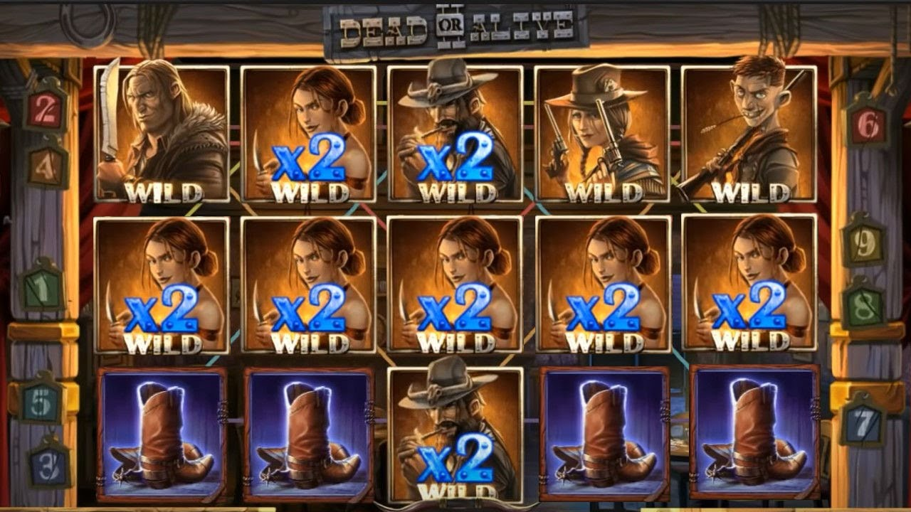 TOP 5 RECORD WINS OF THE WEEK ★ VERY NICE 11755X ON DEAD OR ALIVE 2 SLOT