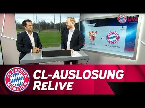🏆 FC Bayern - FC Sevilla | Champions League: Viertelfinal-Auslosung mit Hasan Salihamidžić