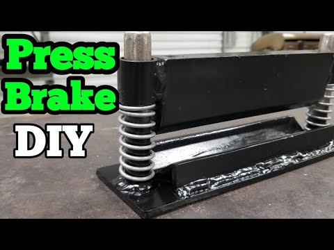 DIY  Press Brake for Harbor freight hydraulic 20 ton press