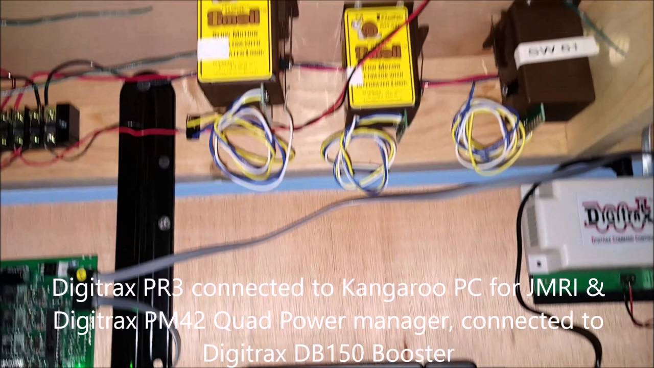 Digitrax Pm42 Wiring From Booster Explained Diagrams Dcc Bdl 168 Diagram Layout Progress May 7 2016 Youtube A