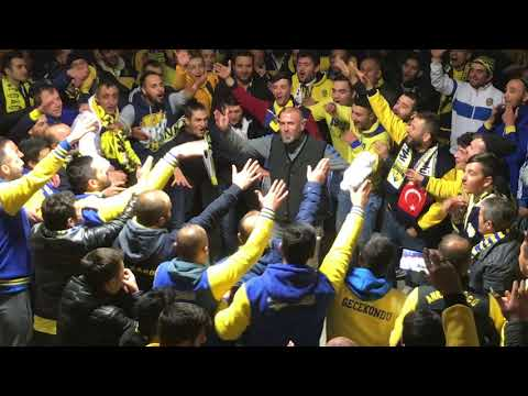 Gazişehir maçı sonrası kaynatma