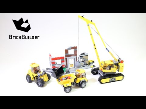 Lego City 60076 Demolition Site - Lego Speed Build