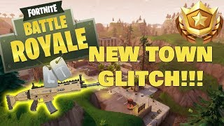 Fortnite Battle Royale Best Moments #3 (New Town Glitch!!!)