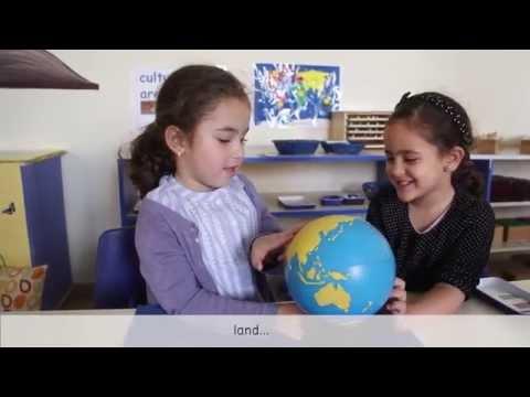 Geography Study-Trillium, the Montessori House