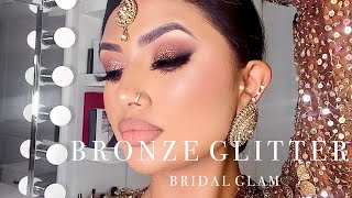 SOUTH ASIAN BRIDAL MAKEUP TUTORIAL  | KRISH KREATIONS