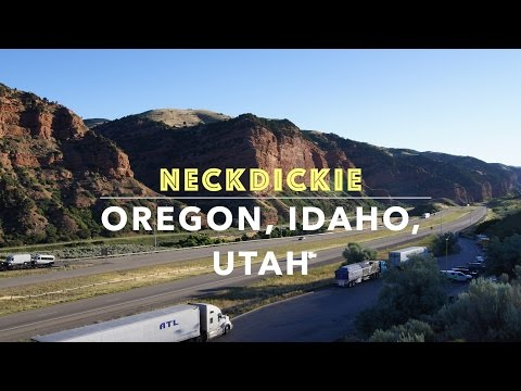 Oregon Idaho Utah West to East, The Great Road Trip Vol 2