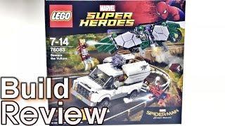 [레고 조립 생방송] 스파이더맨 홈커밍 영화 개봉 Lego 76083 벌처와의 결투 조립 과정 리뷰