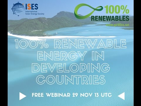 Webinar: Renewable energy in developing countries - Focus on Tanzania and Morocco