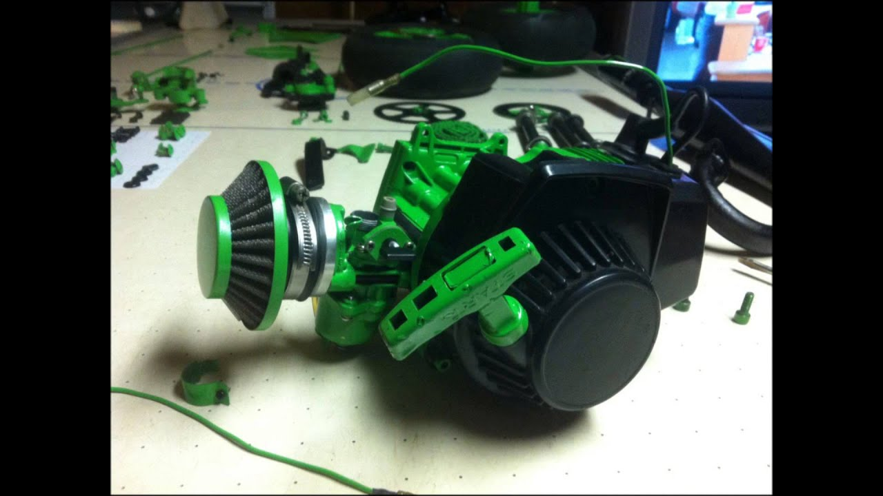 Monster Energy Custom Pocket Bike Build
