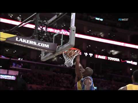 Kobe Bryant Dunks on Emeka Okafor NBA Playoffs 2011 First Round Game 5 April 26 HD 60FPS