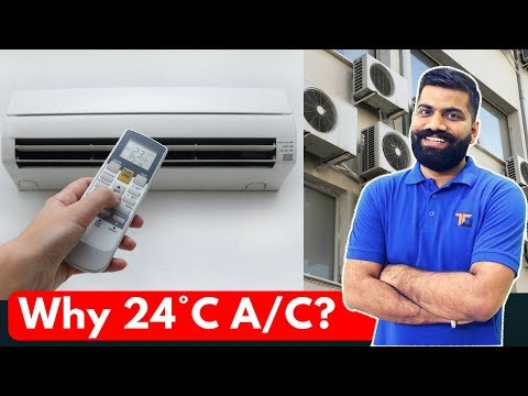 Default A/C Temperature in India - Why 24°C??? Explained