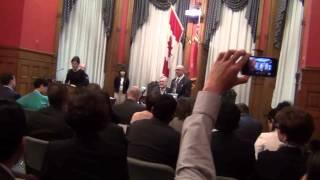 Ahmad at Ontario Lieutenant Governor Award Ceremony