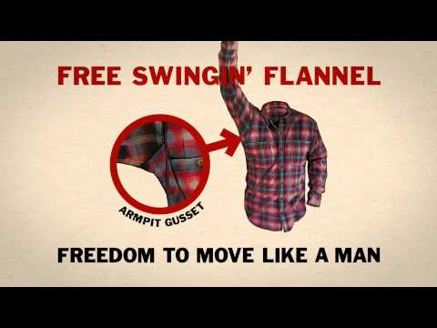 Duluth Trading Radio Ad: Free Swingin' Flannel (Have a Manly Christmas)