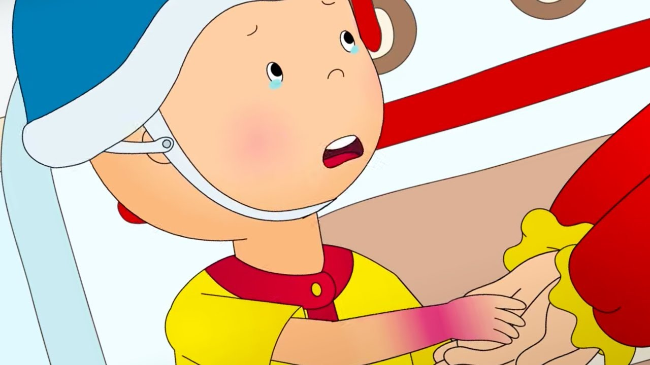 Caillou and the Injury ★ Funny Animated Caillou | Cartoons for kids | Caillou
