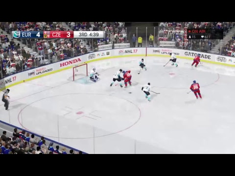(Live) Europe Vs. Czech Republic (World Cup Hockey FINAL) NHL 17