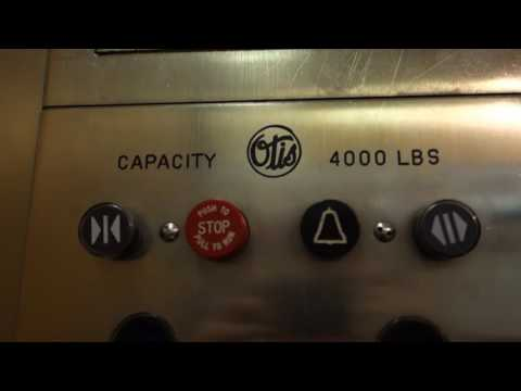 700 SUBS! AMAZING VINTAGE 1968 Otis Touch Sensitive Traction Elevators at Hudson's Bay, Montreal, QC
