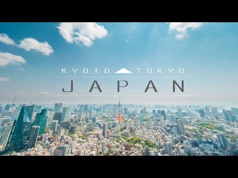 Japan - Transitions through Kyoto and Tokyo