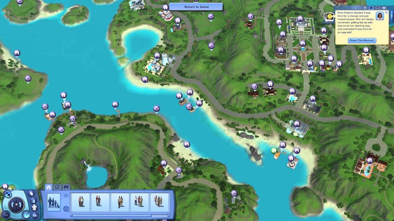 sims 3 island paradise oynuyoruz b246l252m 5 taşınıyoruz