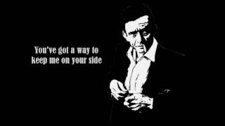 Johnny Cash - I Walk The Line - LYRICS