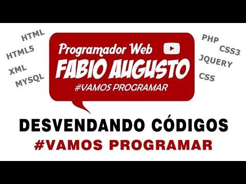 Видео Curso de programador web
