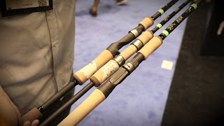 icast 2015 g loomis e6x rods with drew sadler