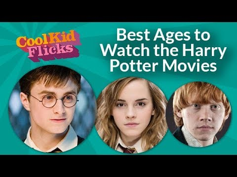 The Harry Potter Movie Age Guide
