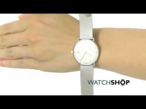 Junghans Ladies  Max Bill Damen Watch (047 4250.44) - YouTube 4b6bf120e07